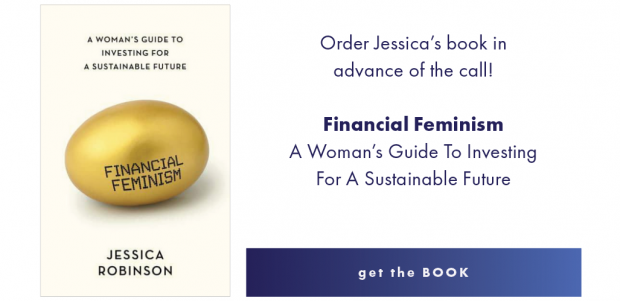 An image of the cover of Financial Feminist by Jessica Robinson